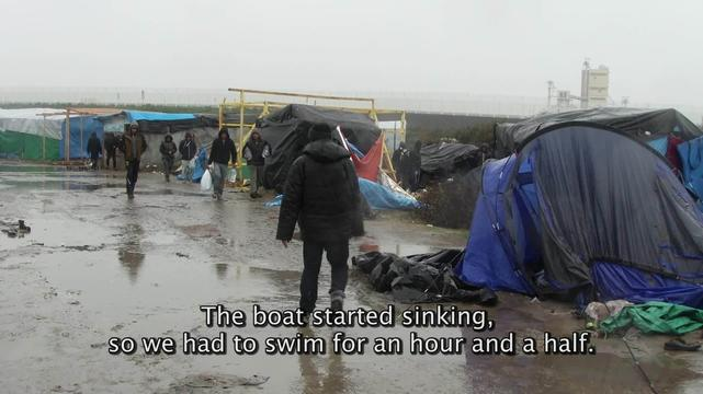 Interview - Abu Omar, Syrian refugee in Calais (ENG)