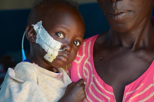 South Sudan - MSF hospital in Agok