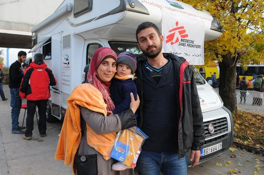 Syrian refugees in Serbia