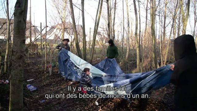Webclip: Souleyman, refugee from Iraq, in Grande-Synthe (FR)