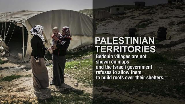 Palestinian Territories - Bedouins at the mercy of the Israeli army (ENG)