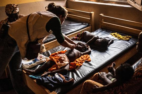 Health in conflict: MSF in Bambari, Central African Republic