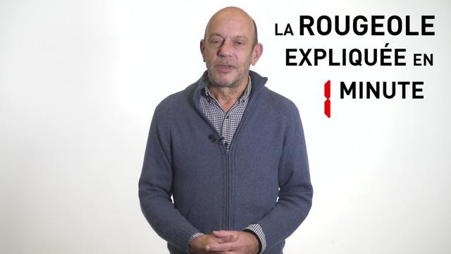 Measles Explained in 1 Minute | Webclip | French
