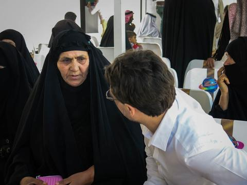 MSF clinic in Abu Graib - Baghdad