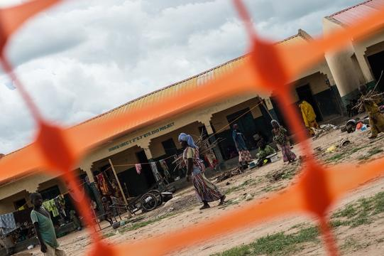 MSF Emergency Response - Hausari Camp
