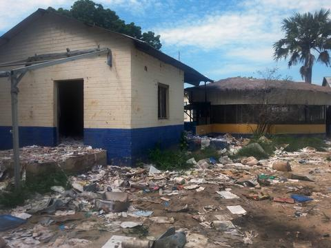 Looted Clinic in South Sudan