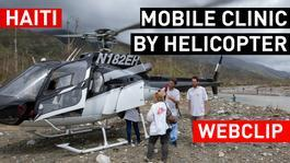 WEBCLIP Mobile clinic by helicopter | MSF Intervention Hurricane Matthew in Haiti | GERMAN