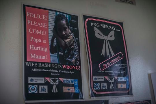 Poster against Sexual Violence in Maprik