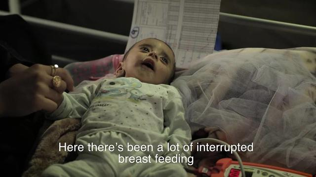WEBCLIP: Babies suffering from malnutrition in Qayyarah (ENG)