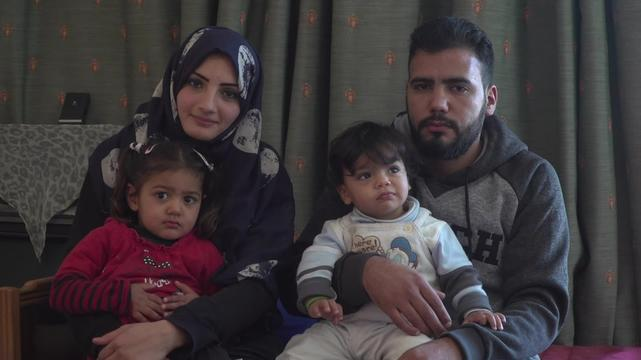 WEBCLIP: Mouamar & Rawan. A Syrian family stuck in Greece (INT)