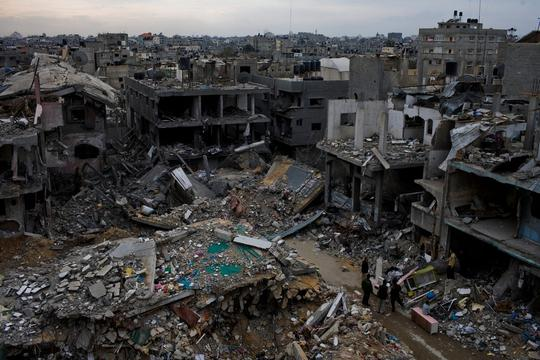 Gaza Strip ruins