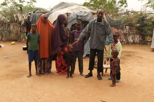 Dadaab Refugee camp, Kenya.