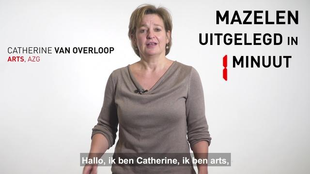 Measles Explained in 1 Minute | Webclip | Dutch