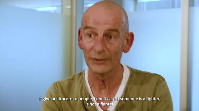 Interview (ENG Sub) Ronald Kremer - Attack on Healthcare in Yemen