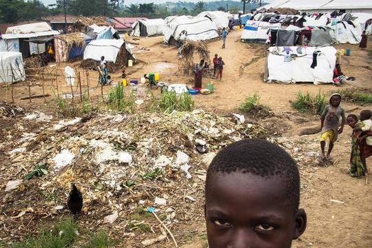refugee camp of Bubukwanga