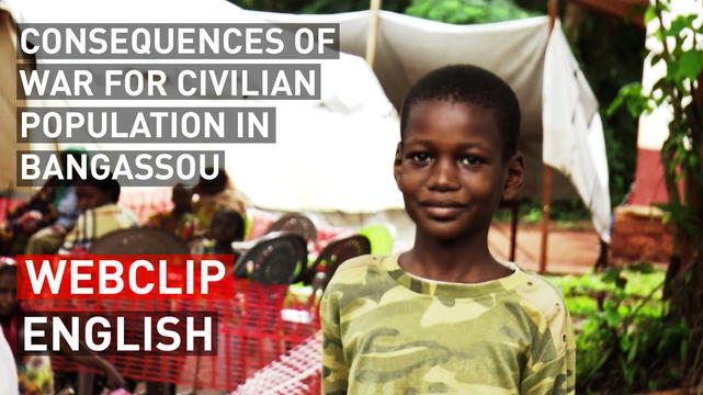 Consequences of war for civilian population in Bangassou | Webclip | English