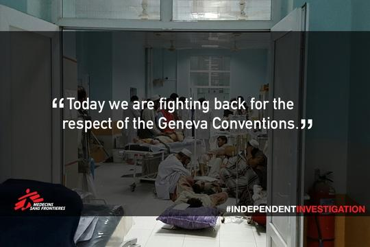 PSD - MEME: #INDEPENDENTINVESTIGATION Kunduz Hospital