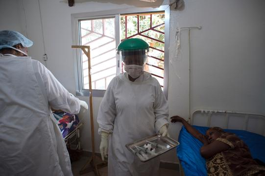 People living with HIV - Kaposi sarcoma - Donka national hospital Conakry, Guinea