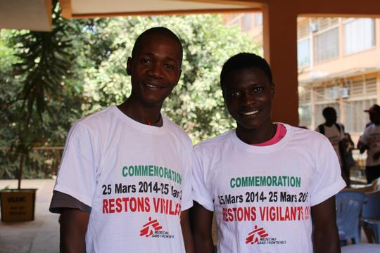 Donka Ebola Treatment Centre First Anniversary in Conakry