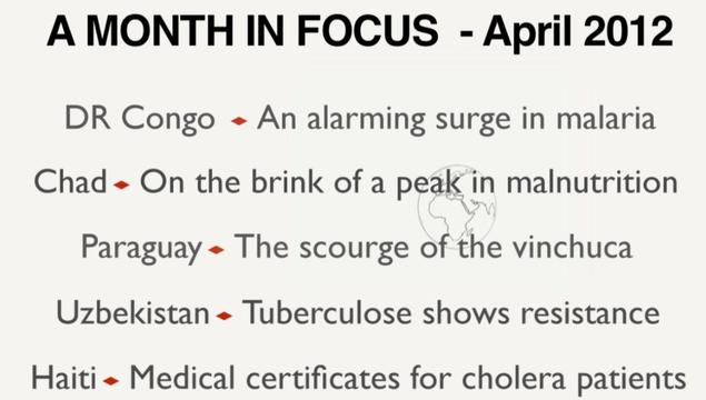 A Month in Focus - April 2012