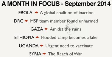 A Month in Focus - September 2014 INT