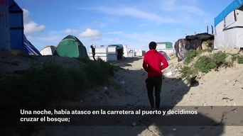 WEBCLIP: Samir, unaccompanied minor in the Jungle, Calais, France (ES)