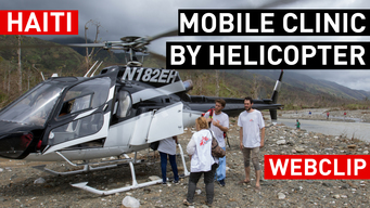 WEBCLIP Mobile clinic by helicopter | MSF Intervention Hurricane Matthew in Haiti | INT
