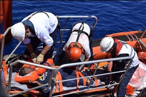 Aquarius. SOS Mediterranee / MSF - Search and Rescue (SAR)