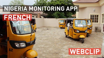 Borno State, Nigeria: Monitoring malnutrition on a mobile phone | Webclip | French