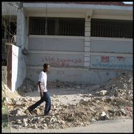 Haiti, street scenes 6 months after the earthquake, William Martin / MSF, september 2010.