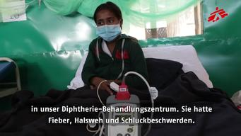 The Fight Against Diphtheria GERMAN