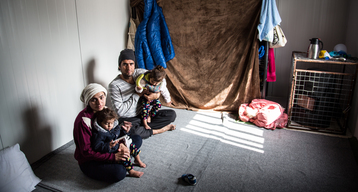 Living Conditions in Lesbos, Greece