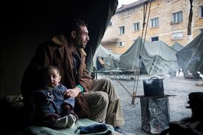 Syrian Refugees Harmanli Bulgaria