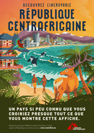 Discover the incredible Central African Republic | Poster Beach - French
