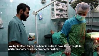 Dr Abu Huthaifa – Surgeon in Aleppo (Part One) ENG