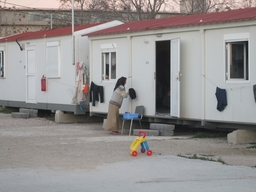 Eleonas refugee camp in Athens