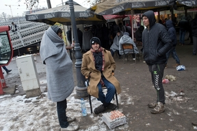 Winter Living Conditions in Belgrade, Serbia