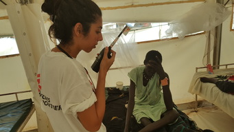 Medical activities in Bentiu PoC, South Sudan, 2016