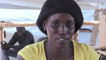 "WEBCLIP: Uganda: ""I wish to go to South Sudan when there is peace"" (INT)"