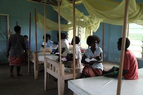 Buin Health Clinic in the far south of Bougainville