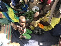 South Sudanese refugees in Sudan
