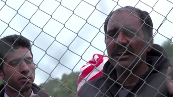 WEBCLIP: Mehboob, refugee from Pakistan held in a detention centre on Samos, Greece (INT)