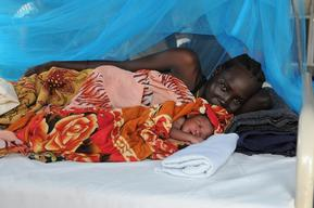 Maternity ward in Doro refugee camp