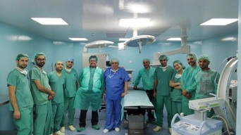 Inauguration of new Surgical Department in Ramtha Project, Jordan