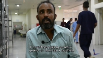 WEBCLIP: Mokthar, landmine victim in Yemen, tells his story (FR)