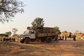 Refugees fleeing violence in CAR in southern Chad