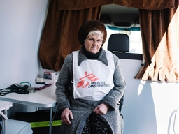 MSF Operations in Mayorsk, Ukraine