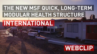 The new MSF quick, long-term modular health structure | International