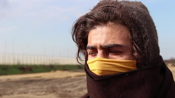 WEBCLIP Nidal, imprisoned and tortured by IS (ARABIC)