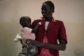MSF Cholera Hospital in Juba, South Sudan